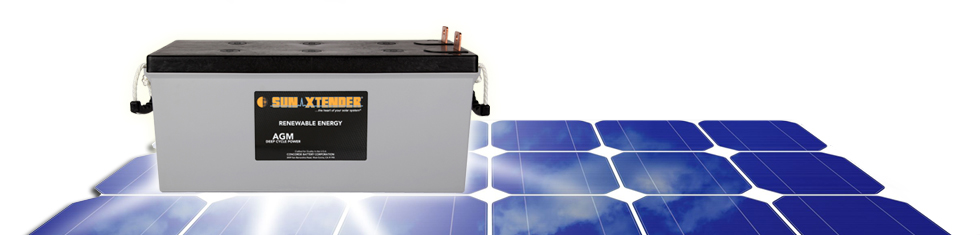 SunXtender Solar Battery Technical Information